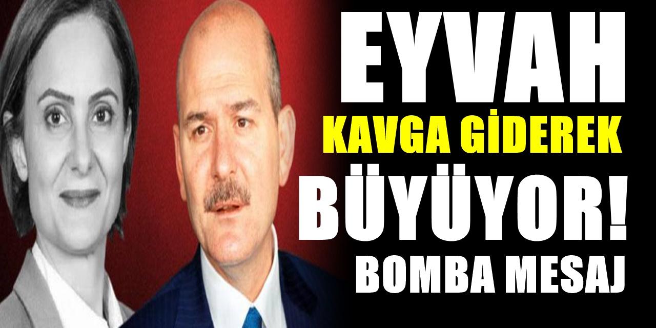 Süleyman Soylu'dan Canan Kaftancıoğlu'nu çıldırtacak dosya! Gerekçesini de açıkladı