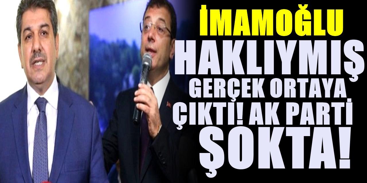 CHP arşivi ortaya çıkarınca İmamoğlu haklı çıktı! AKParti'li isim şoka girecek! Bomba patladı