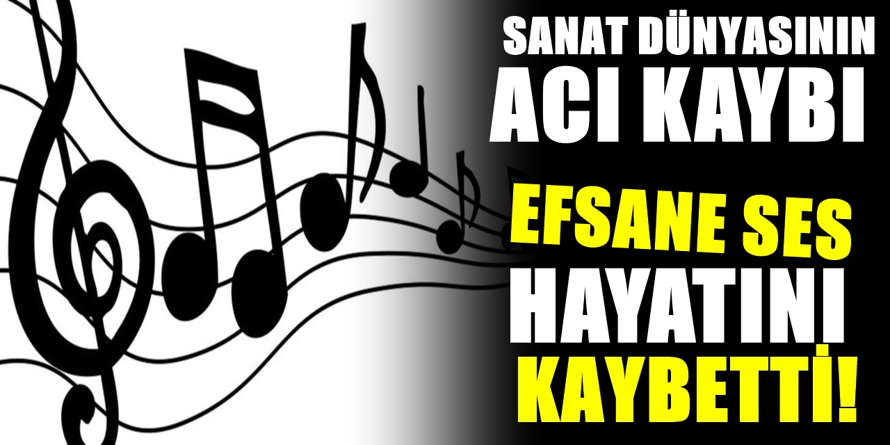 Türk pop müzik Dünyasının acı kaybı! Efsane sesi kaybettik. Sevenleri yasa boğuldu