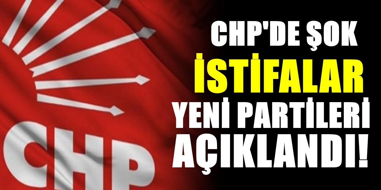CHP fena karışıyor! Vekiller istifa kararı aldı! Geçecekleri parti de belli oldu