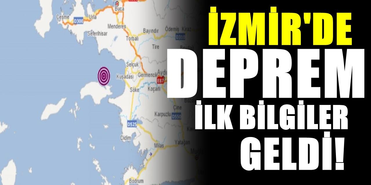 İzmir'de sallantı devam ediyor bir deprem daha oldu! İlk açıklama geldi