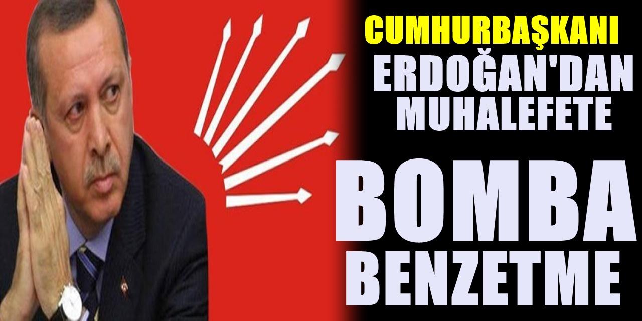Erdoğan'dan Muhalefeti Çılgına Çevirecek benzetme! Sözleri muhalefeti fena zıplatacak