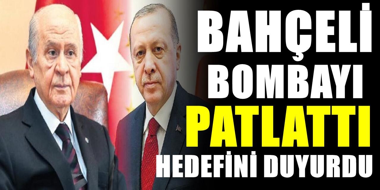 Devlet Bahçeli bombayı patlattı yeni hedefini açıkladı! Erdoğan'dan izin istedi...