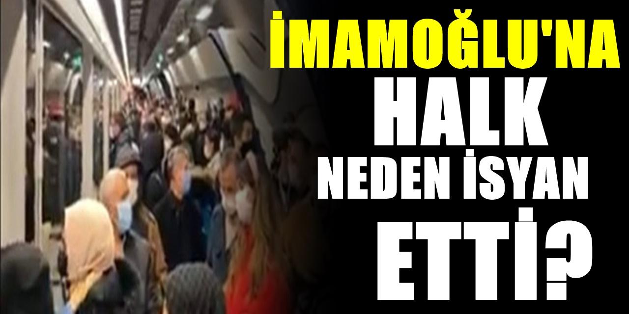 İstanbul halkı isyan etti! Vatandaşlardan İBB Başkanı Ekrem İmamoğlu'na büyük tepki!
