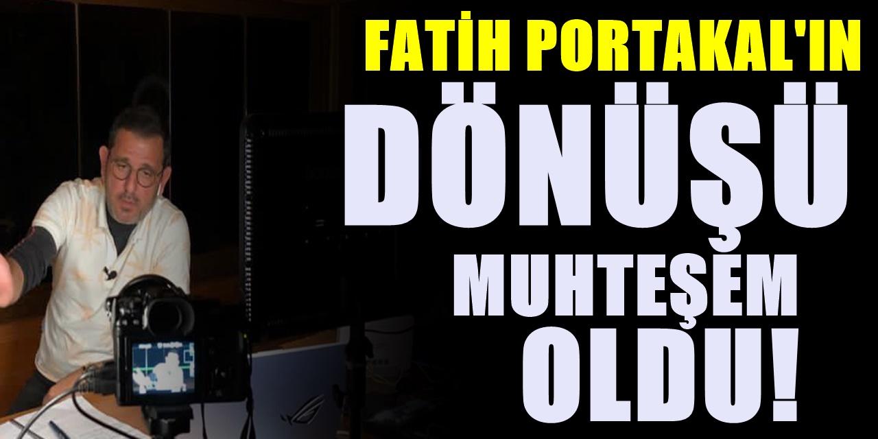 FOX TV'den ayrılmıştı Fatih Portakal yeni mekanından Fotoğraf paylaştı İşte Stüdyosu