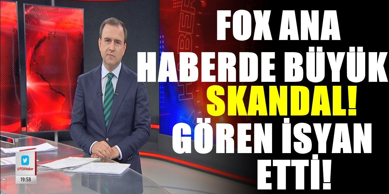 FOX TV neyi amaçlıyor? Bu neyin algısı! Ana haber yayınında tepki çeken büyük skandal