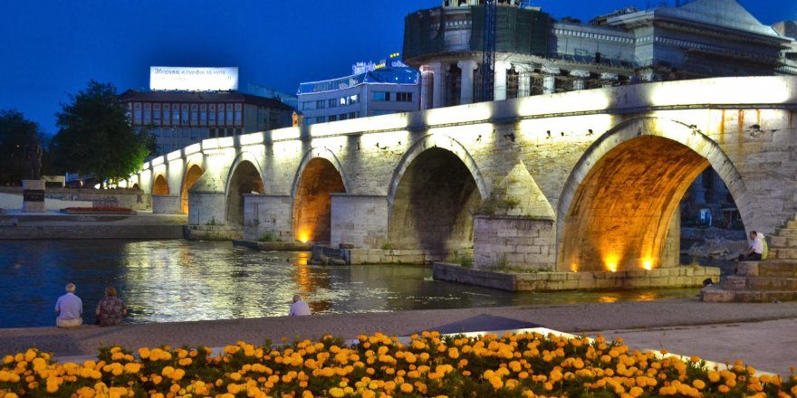 Gezginlerin Makedonya'ya gelince ilk uğradığı yerler