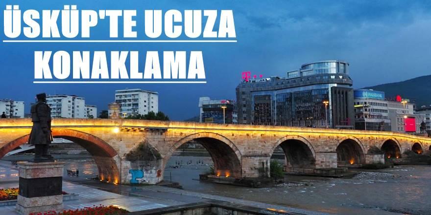 Makedonya Üsküp'te ucuza konaklamak için hostel