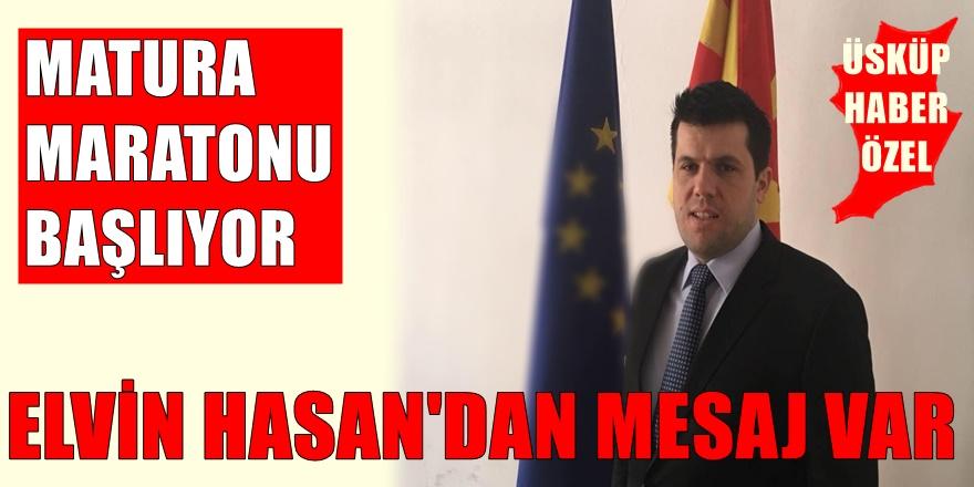 Elvin Hasan'dan Makedonya'da ki öğrenciler için önemli duyuru