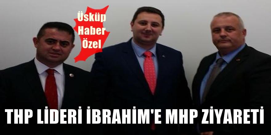 Enes İbrahim'e MHP'li Erkan Azeri ve Serkan Kural'dan ziyaret