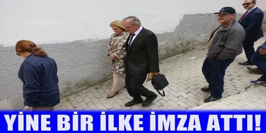 T.C Üsküp Büyükelçisi Tülin Erkal Kara'dan Jirovnisa'ya ziyeret