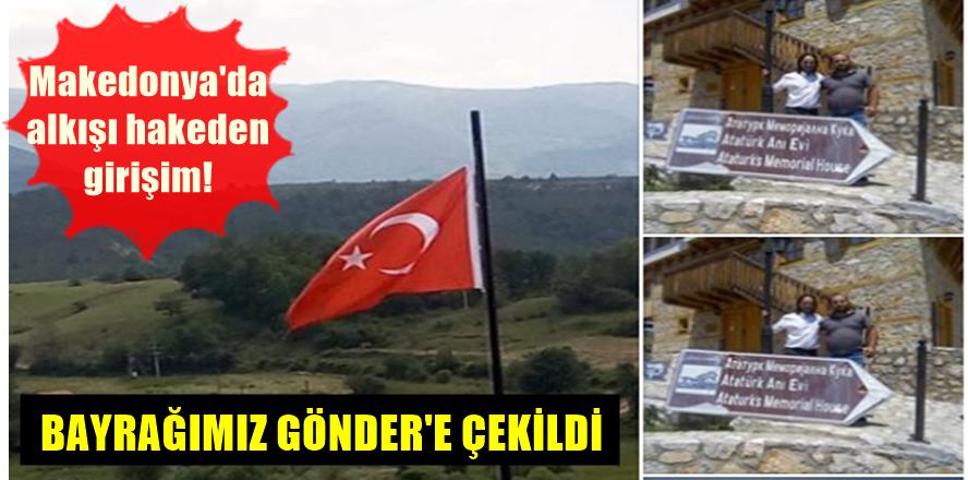 Türk Bayrağı Kocacık'da Göndere Çekildi!