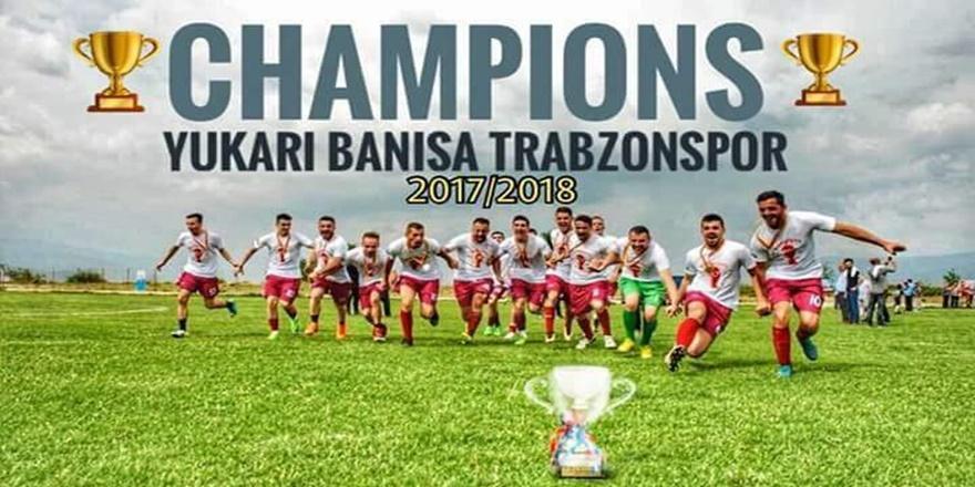 Trabzonspor'un kardeş takımı Makedonya Yukarı Banisa Trabzonspor Başarıya doymuyor
