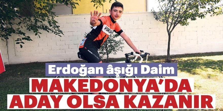 Sabah gazetesi muhabiri Furkan Haykır yazdı : Erdoğan Makedonya'da aday olsa kazanır