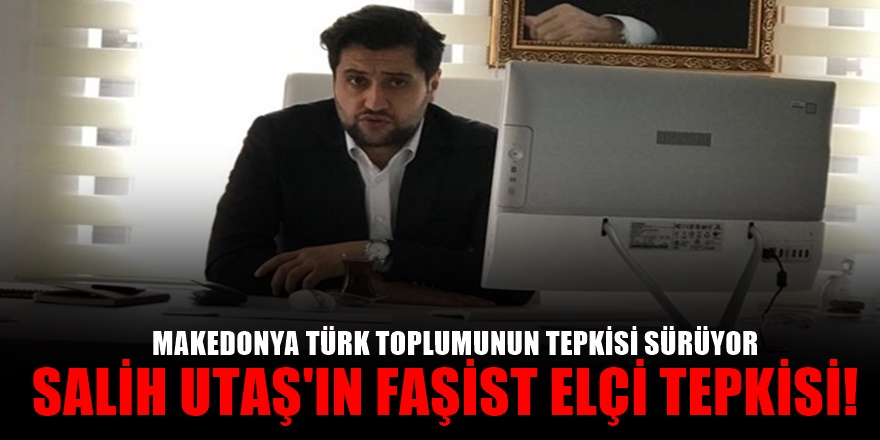 Makedonya'da Türk düşmanı faşist Kosova elçisine tepkiler büyüyor!