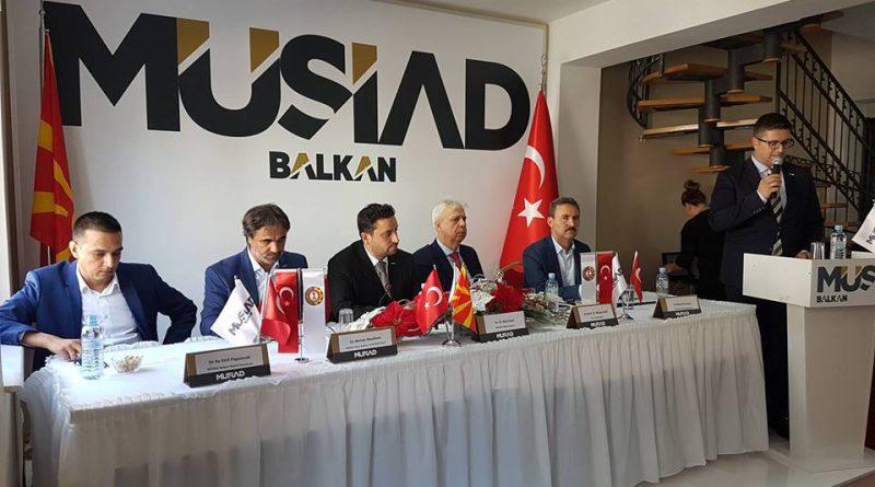 Bakan Kahil, MÜSİAD'ın Düzenlediği Panele Katıldı