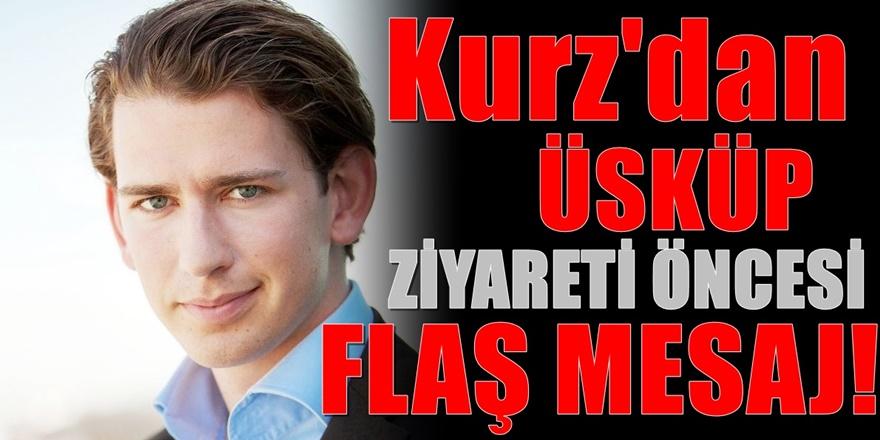 AB dönem Başkanı Sebastian Kurz Üsküp'e geliyor