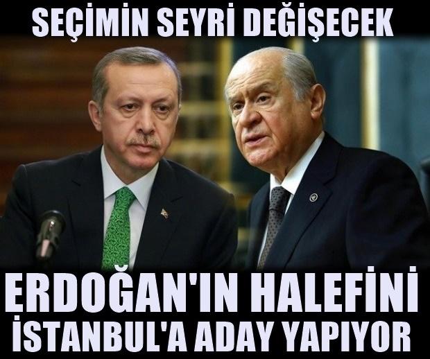 MHP'den İstanbul'a şok eden aday