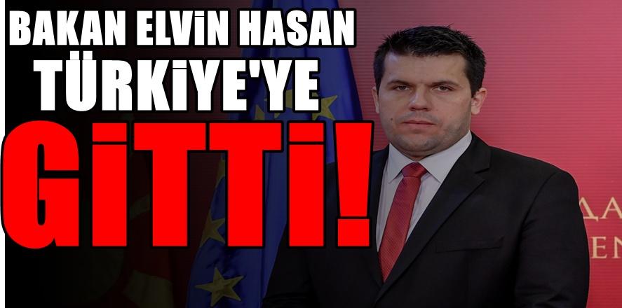 Bakan Dr Elvin Hasan İstanbul'da