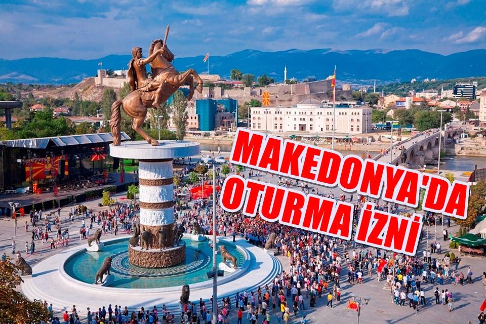 Makedonya'da oturma izni alma