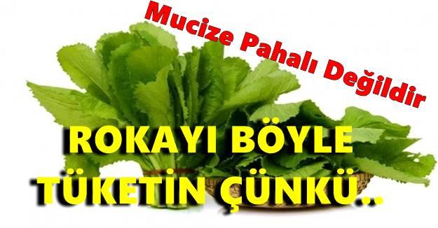 ROKAYI BOLCA TÜKETİN ÇÜNKÜ!!