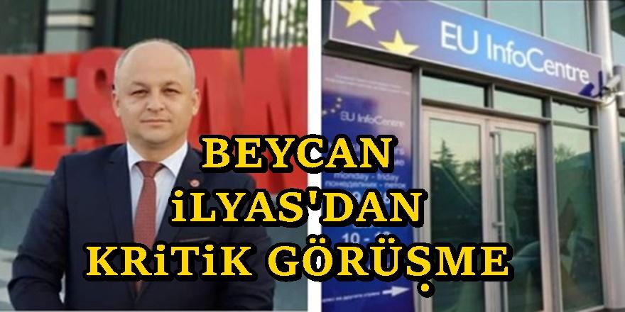 TDP lideri Beycan İlyas AB Büyükelçisi Zbogar'la Görüştü