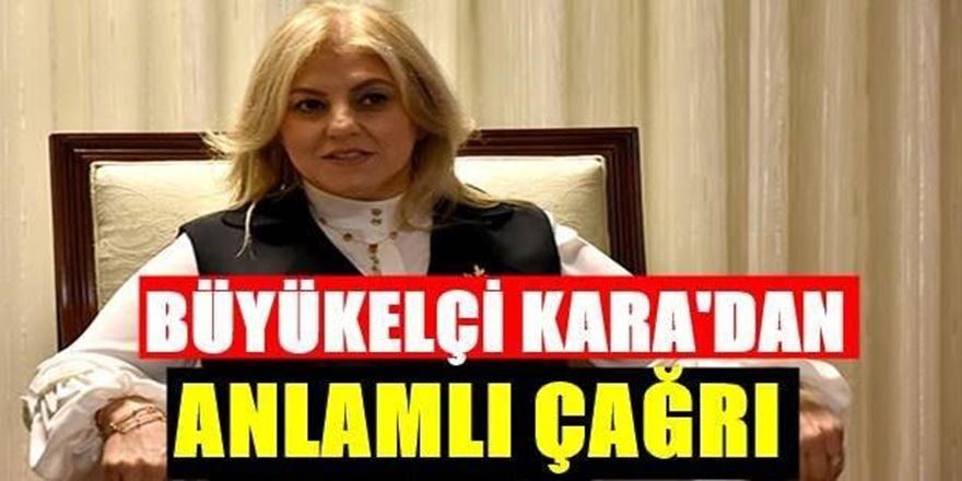 T.C Üsküp Büyükelçisi Tülin Erkal Kara'dan Barış Pınarı Açıklaması