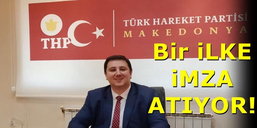 THP Lideri Enes İbrahim'den Ülke siyasetinde bir ilk