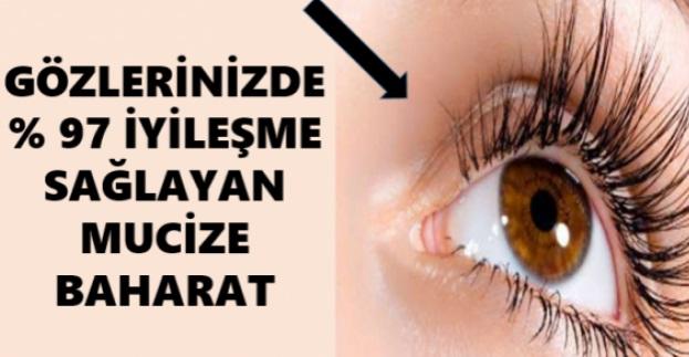 Gözlerinizde Yüzde 90 İyileşme Sağlıyor