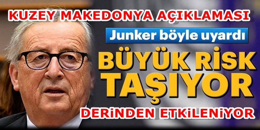 AB Komisyonu Başkanından Kuzey Makedonya için Şok Açıklama!