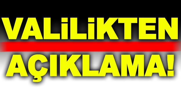 Ankara'da patlama oldu iddiasına Valilik'ten açıklama