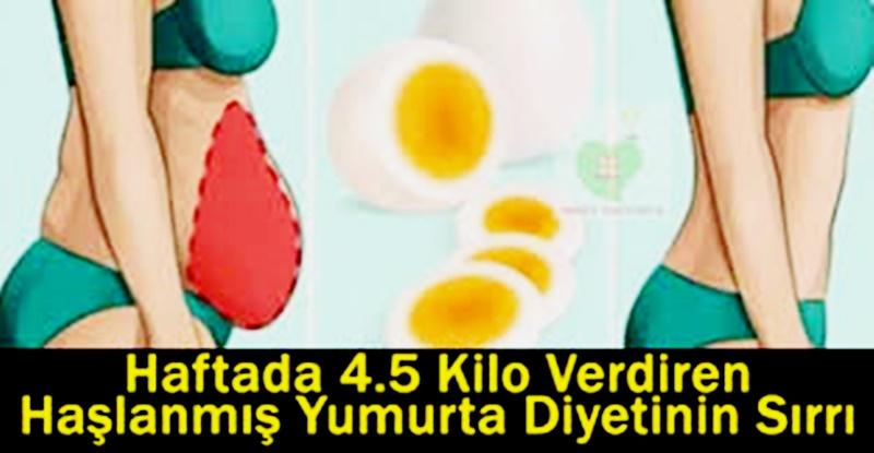 Göbek sorunu olanlar için  Haşlanmış Yumurta Diyetinin Sırrı
