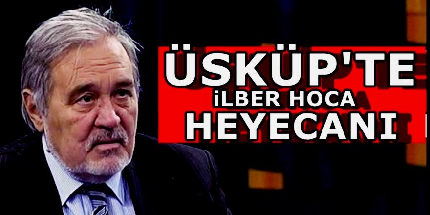 Türkiye ve Balkanların en çok sevilen İsmi İlber Ortaylı Üsküp'e geliyor