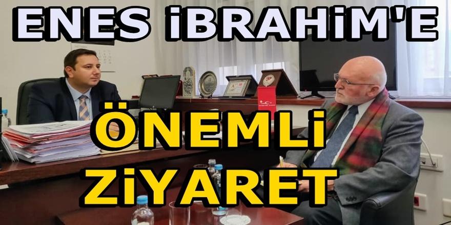 THP lideri Enes İbrahim AB Makedonya eski Büyükelçisi Ervan Fuere ile görüştü