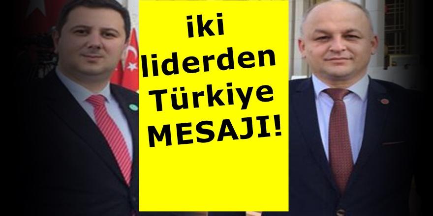 TDP ve THP liderlerinden Elazığ Depremi Sonrası Açıklama