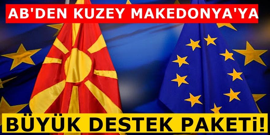 Kuzey Makedonya'ya AB'den ikinci müjde