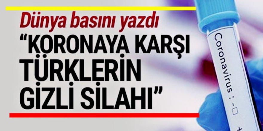 Yabancı Basına göre koronaya karşı gizli Silah Türkler'de var.. İşte o ürün