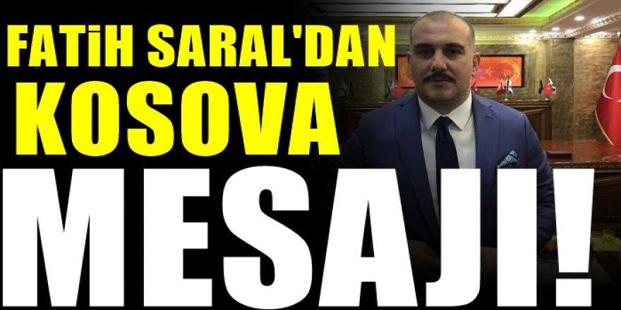 Kosova'nın Kurtuluşunu kutlayan Fatih Saral Balkanları Ziyaret edeceğini Açıkladı!