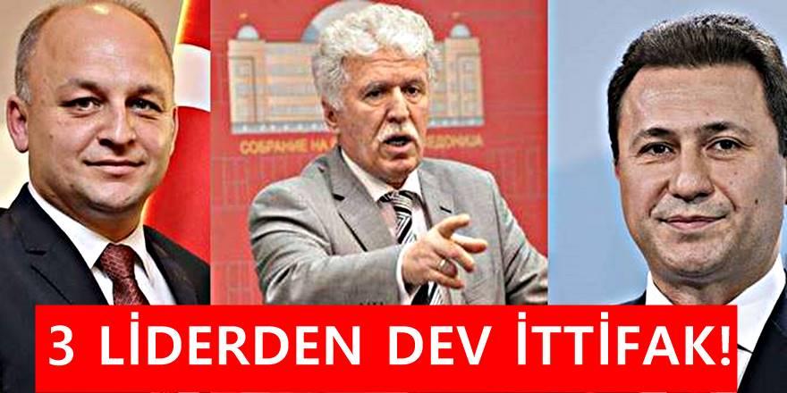 TDP ve TMBH , VMRO-DPMNE ile ortak kararını Makedonya'ya duyurdu