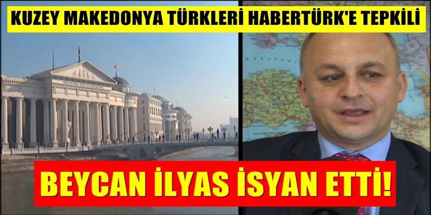 Kuzey Makedonya TDP lideri Beycan İlyas Habertürk yayınındaki Sözlere Ateş Püskürdü