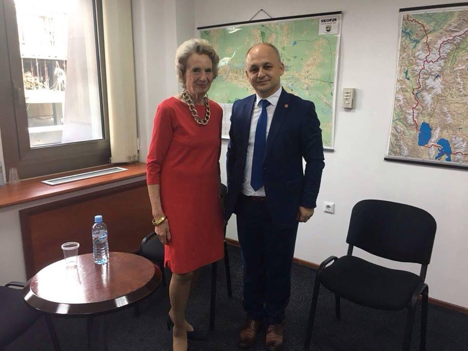 TDP lideri Beycan İlyas Odri Glover ile görüştü