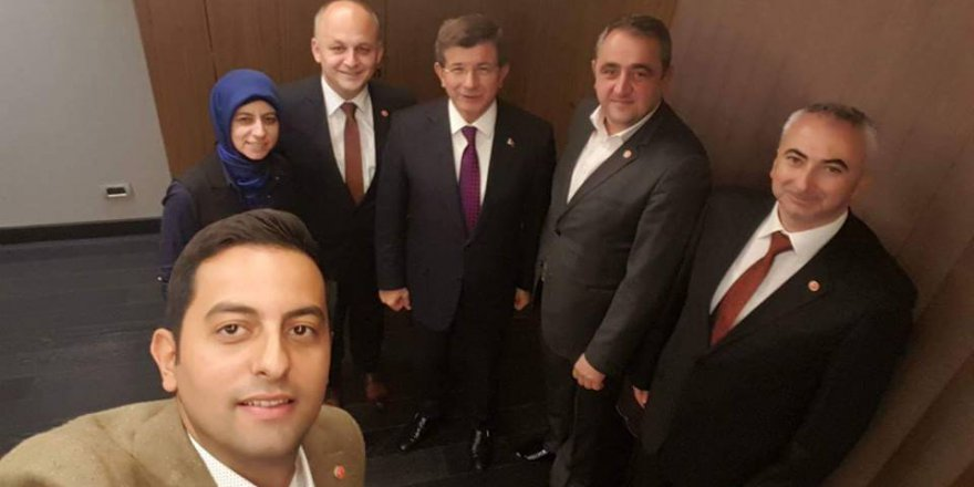 TDP'ye Ahmet Davutoğlu'ndan ziyaret