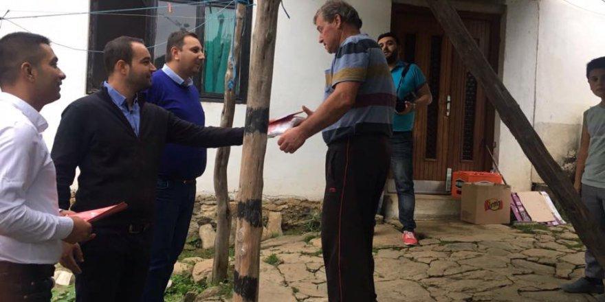 Bakan Kahil , Enes İbrahim ve THP heyeti saha çalışmalarına devam ediyor!