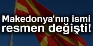 Meclis Kuzey Makedonya İsmini kabul etti