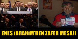 THP Lideri Enes İbrahim'den Pendarovski mesajı