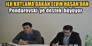 Bakan Elvin Hasan'dan Pendarovski mesajı