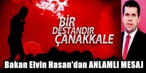 Türk kökenli bakan Dr Elvin Hasan'dan duygu yüklü 18 Mart mesajı