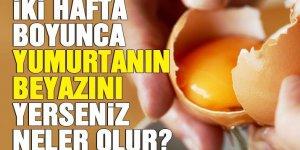 Yumurta akının faydaları nelerdir? Yumurta akı mucizesi...