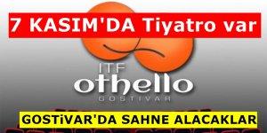 AVP Bursa Devlet Tiyatrosu yarın Gostivar'da sahne alacak
