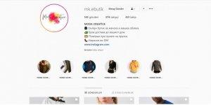 Üsküp'te Türk girişimci internet üzerinden sattığı kıyafetlerle dikkat çekiyor..